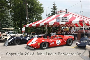 21July2013  The Hawk with Brian Redman at Road America.